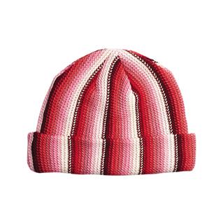 5052B-Ladies' Crocheted Knitted Beanie