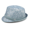 Side - 8951-Infinity Selections Fashion Fedora Hat