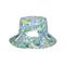 Back - 6556-Ladies' Floral Reversible Bucket Hat