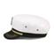 Side - 2143-Linen Captain Hat