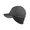 Side - 3508-Men's Wool Cap W/Warmer Flap