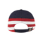 Back - 7642C-Low Profile (Uns) Cotton Twill Washed USA Flag Cap