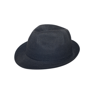 2515-Polyester Knit Fedora Hat