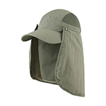 Juniper Taslon UV Cap w/ Removable Neck Flap