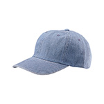 Low Profile (Uns) Denim Washed Cap