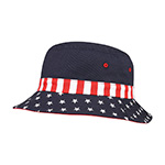 USA Flag Bucket Hat