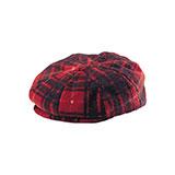 Fleece Winter Newsboy Hat