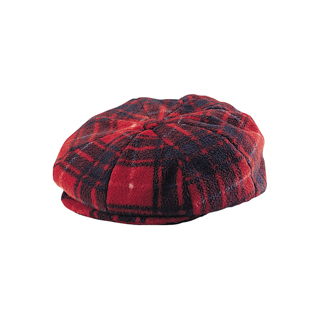 3027-Fleece Winter Newsboy Hat