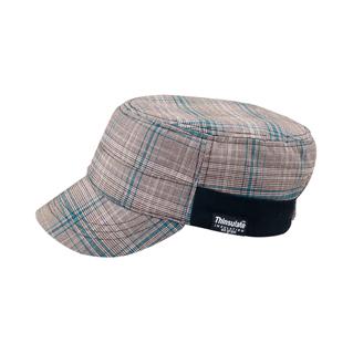 3513-Fashion Plaid Winter Army Cap