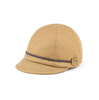 3514-Ladies' Wool Jockey Cap