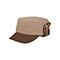 Main - 3520-Knitted Army Cap W/Warmer Flap
