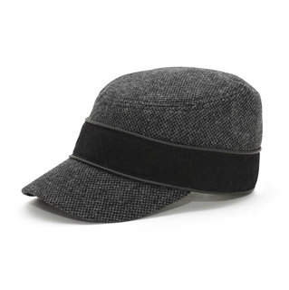 3526-Infinity Selecitons Wool Blend Army Cap