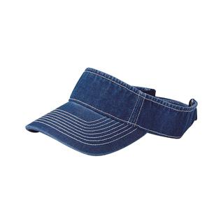 4029-Pro Style Washed Denim Visor