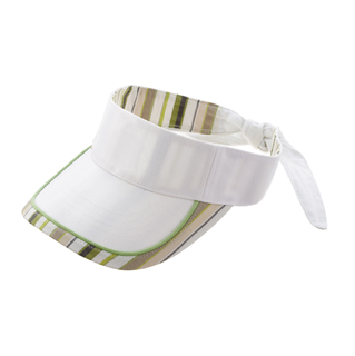 4066B-Deluxe Brushed Cotton Visor