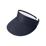 High Crown Cotton Twill Golf Clip-On Visor