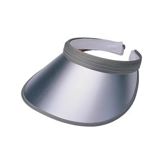 "4107-""Deluxe"" Metallic PVC Clip-On Visor"