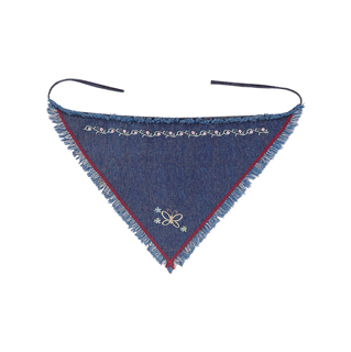 4504A-Washed Denim Kerchief