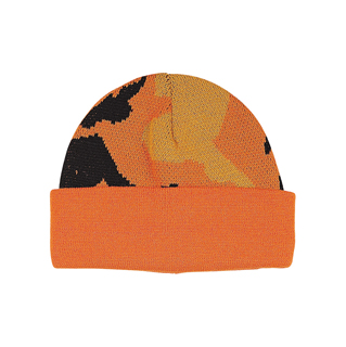 5007-Camouflage Knitted Beanie