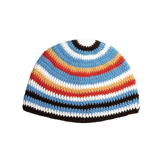 5037-Youth Crocheted Kufi Beanie