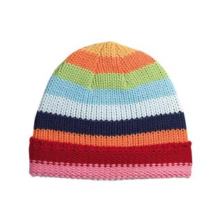 5055A-Crocheted Knit Cap