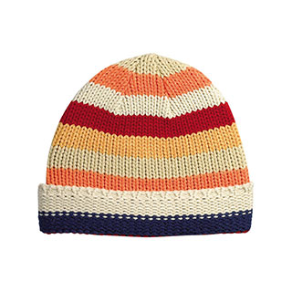 5055AY-Youth Crocheted Knit Beanie