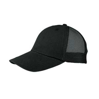 6808-Washed Cotton Twill Mesh Cap
