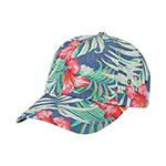 Floral Print Cap