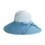Ladies' Sewn Braid Toyo & Webbing Hat