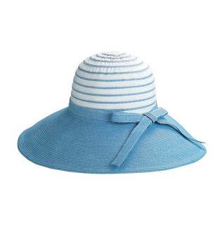 6524B-Ladies' Sewn Braid Toyo & Webbing Hat