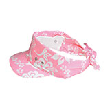 Hawaiian Flower Print Visor/Kerchief
