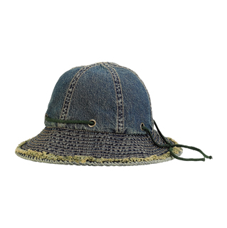 6533-Washed Denim Hat