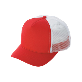 6546-Ladies' Fashion Trucker Cap W/Short Bill