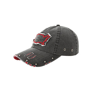 6547-Low Profile (Uns) Washed Twill Cap
