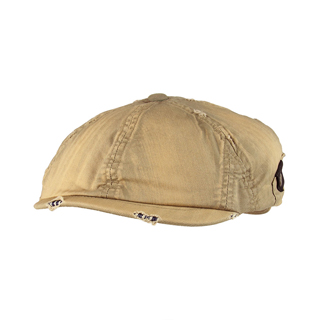6558-Washed New Herringbone Ladies' Ivy Cap