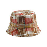 Girls' Reversible Twill Bucket Hat
