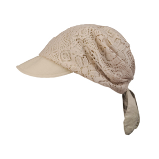 6596-Ladies' Jacquard Mesh Fashion Hat