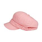 Ladies' Brushed Canvas Newsboy Hat