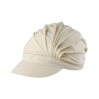 6601-UV Cotton Pleated Hat