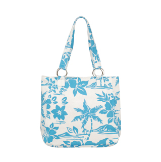 1511B-Print Canvas Tote Bag
