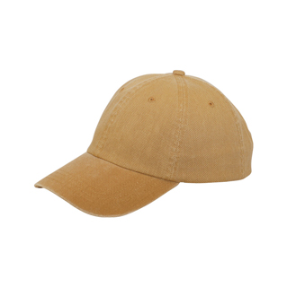 6851-Low Profile Heavy Cotton Oxford Washed Cap