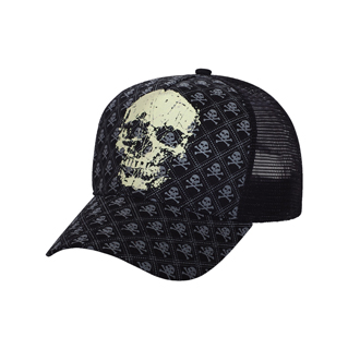 6855-Pro Style Fitted Mesh Cap