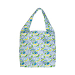 Floral Cotton Beach Tote