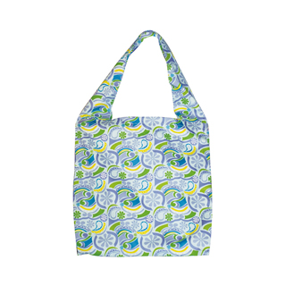 1514-Floral Cotton Beach Tote