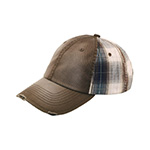 Low Profile (Uns) Washed Cotton Twill Plaid Cap