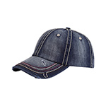 Low Profile (Uns) Heavy Washed Herringbone Cap