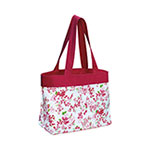 Floral Beach Tote Bag