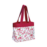 Floral Beach Tote Bag