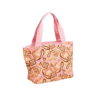 1521-Paisley Print Canvas Tote Bag