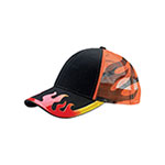 Flame Trucker Cap