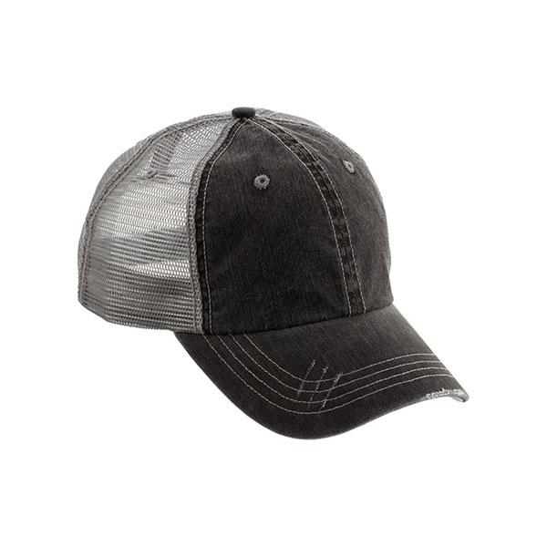 Wholesale Washed Herringbone Cotton Twill Trucker Cap